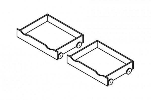Rollschubkästen (2er Set) INFANSKIDS
