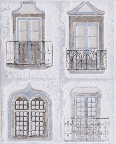 Struktur-Wandbild Fenster