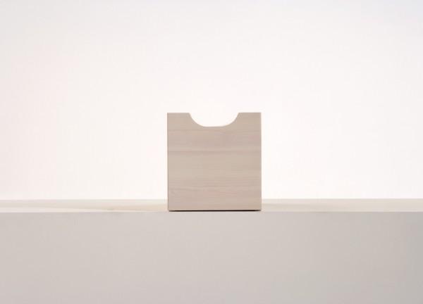 Schublade zu Würfel klein und groß