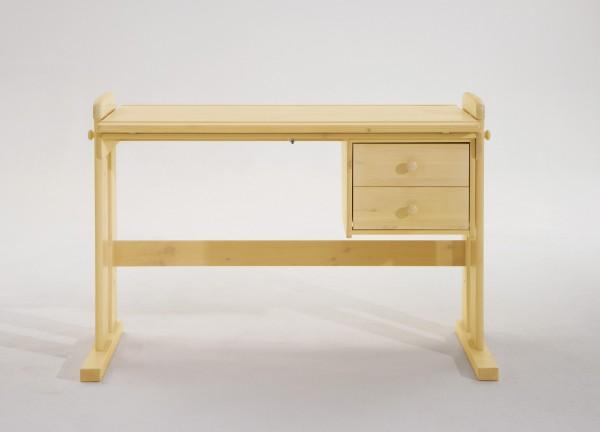 Schreibtisch, höhenverstellbar, Platte schrägstellbar