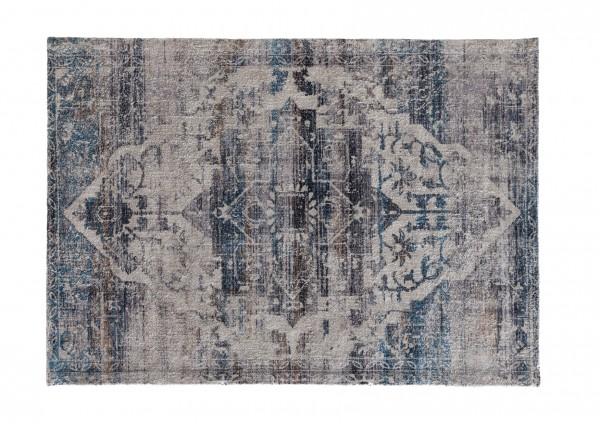 Vintage-Teppich MIRACLE, 170 x 240 cm, blau/multicolor