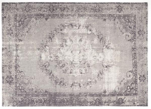 Vintage-Orient-Teppich MEDAILLON, grau
