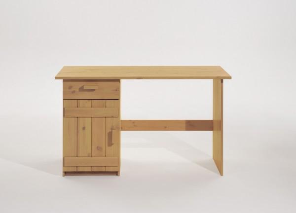 Schreibtisch mit 1 Schublade und 1 Tür