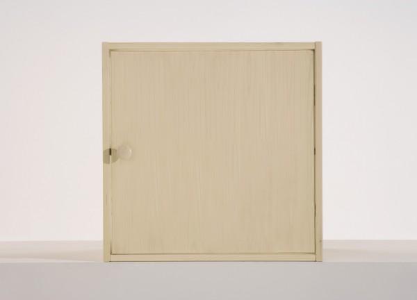 Tür inklusive Rückwand zu Würfel groß