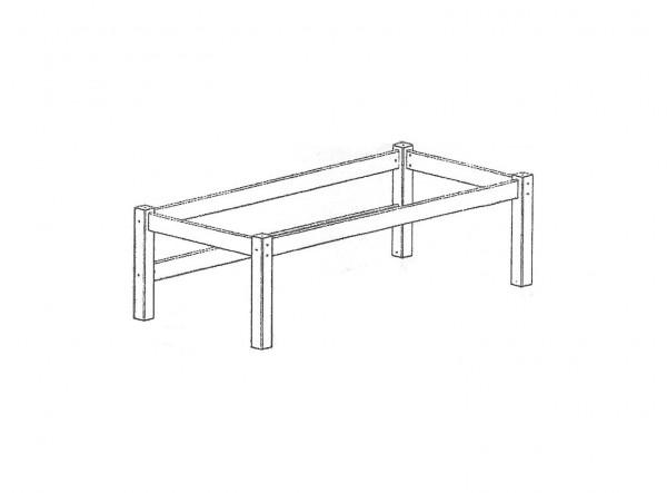 Aufbau Beduinenzelt für Halbhochbett TOBYKIDS (Holzteile)