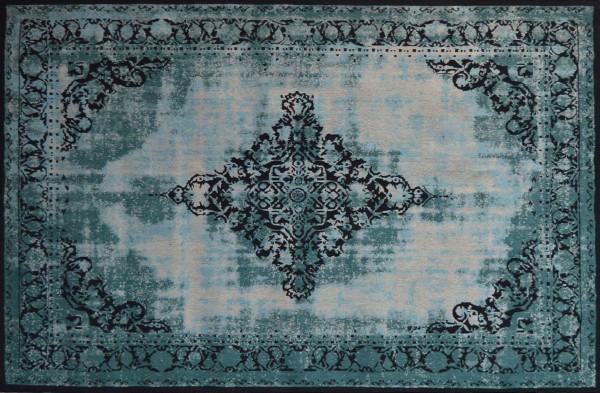 Vintage-Orient-Teppich ANTIQUITY, 200 x 300 cm, türkis