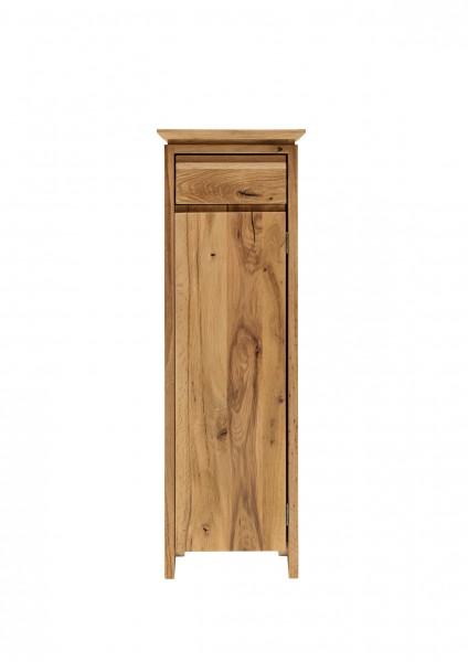 Blumensäule mit Schublade und Holztür