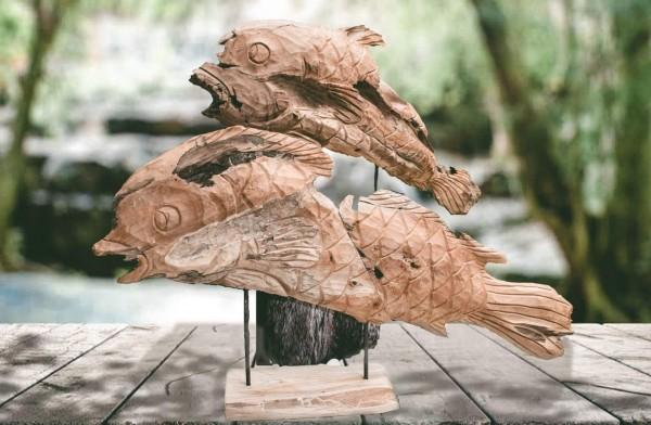 Unikat Deko-Fisch RUSTIC