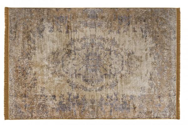 Vintage-Teppich VAN DYCK, 200 x 300 cm, gelb