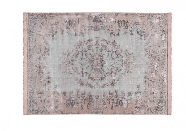 Vintage-Teppich VAN DYCK, 200 x 300 cm, altrosa