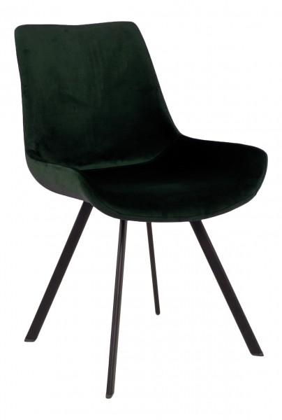 Polsterstuhl PALLE, dunkelgrün
