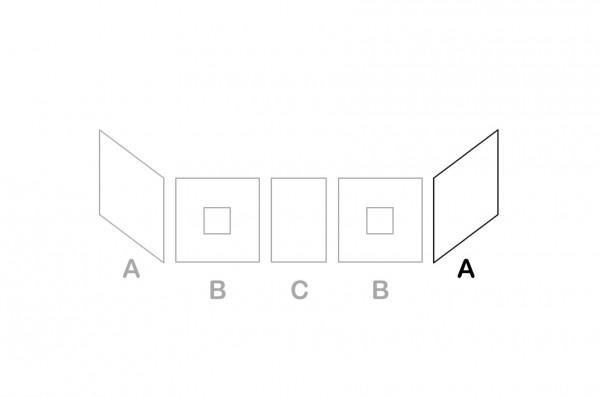 Zusätzliches Seitenteil A für Halbhochbetten INFANSKIDS & TOBYKIDS