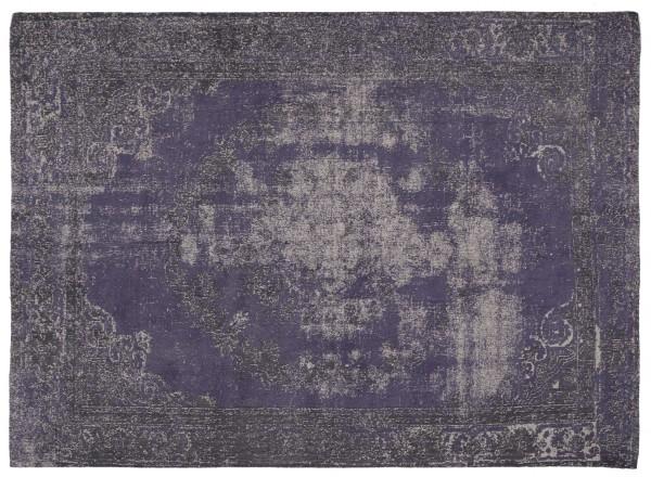 Vintage-Orient-Teppich MEDAILLON, blau