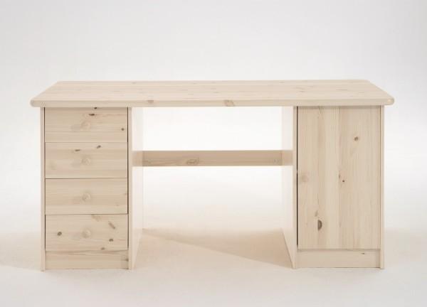 Schreibtisch mit 4 Schubladenund 1 Tür